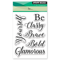 Penny Black Clear Stamp Be...