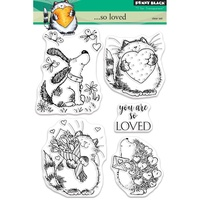 Penny Black Clear Stamp So Loved