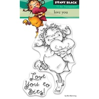 Penny Black Clear Stamp Love You