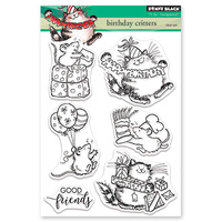 Penny Black Clear Stamp Birthday Critters