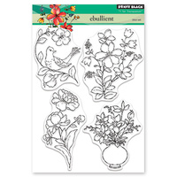 Penny Black Clear Stamp Ebullient