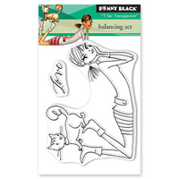 Penny Black Clear Stamp Balancing Act