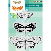 Penny Black Cling Stamp Butterfly Trio