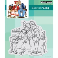 Penny Black Cling Stamp Young Love