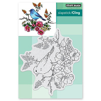 Penny Black Clear Stamp Flower Perch