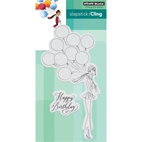 Penny Black Cling Stamp Birthday Balloons