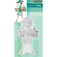Penny Black Cling Stamp Parisian Stroll