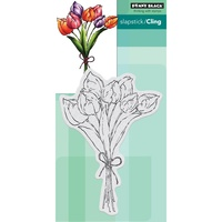 Penny Black Cling Stamp Tulip Bouquet