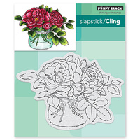 Penny Black Clear Stamp Rose Bowl