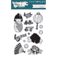 PhotoPlay Paper Paper Crane Stamp