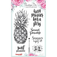 Penelope Dee Summer Breeze Stamp Pineapple