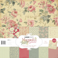 "Kaisercraft Magnilia Grove 12x12"" Paper Pack with Bonus Sticker Sheet"