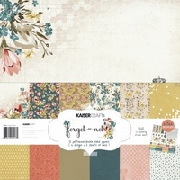 "Kaisercraft Forget-me-not 12x12"" Paper Pack with Bonus Sticker Sheet"
