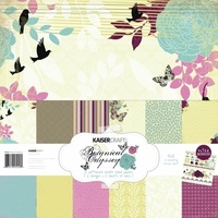 Kaisercraft Botanical Odyssey 12x12' Paper Pack with Bonus Sticker Sheet