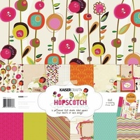 "Kaisercraft Hopscotch 12x12"" Paper Pack with Bonus Sticker Sheet"