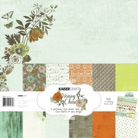 "Kaisercraft Honey Chai 12x12"" Paper Pack with Bonus Sticker Sheet"