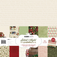 "Kaisercraft Silent Night 12x12"" Paper Pack with Bonus Sticker Sheet"