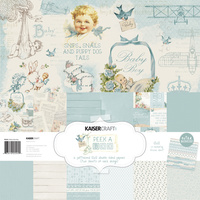 "Kaisercraft Peek-a-Boo Boy 12x12"" Paper Pack with Bonus Sticker Sheet"