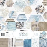 "Kaisercraft Beach Shack 12x12"" Paper Pack with Bonus Sticker Sheet"