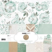 "Kaisercraft Memory Lane 12x12"" Paper Pack with Bonus Sticker Sheet"