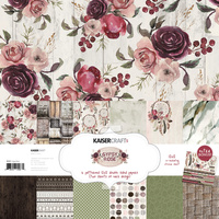 "Kaisercraft Gypsy Rose 12x12"" Paper Pack Collection"
