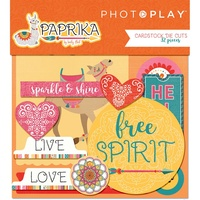 PhotoPlay Paper Paprika Cardstock Diecuts