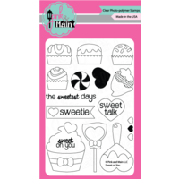 "Pink & Main Clear Stamp 4x6"" Sweet on You"