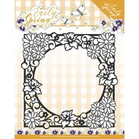 Find It Trading Early Spring Die Spring Flowers Square Frame by Marieke