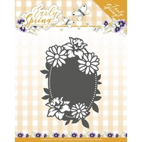 Find It Trading Early Spring Die Oval Label by Marieke