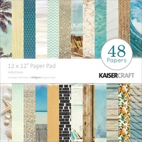 "Kaisercraft Salty Kisses 12x12"" Paper Pad 48pg"