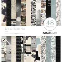 "Kaisercraft Travel 12x12"" Paper Pad 48pg"