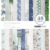 "Kaisercraft Wandering Ivy 12x12"" Paper Pad 48pg"