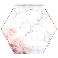 "Kaisercraft Misty Mountains 12x12"" Die Cut Paper Hexagon"