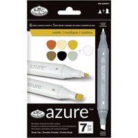 Royal & Langnickel Azure Marker Set Rustic 7pc