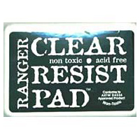 Ranger Inkssentials Clear Resist Stamp Pad #0