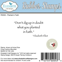 Elizabeth Craft Designs Stamps Planted In Faith By Susan Tierney Cockburn