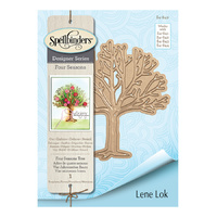 Spellbinders Four Seasons Shapeabilities Die Tree by Lene Lok
