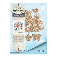 Spellbinders Four Seasons Shapeabilities Die Spring Canopy & Elements by Lene Lok