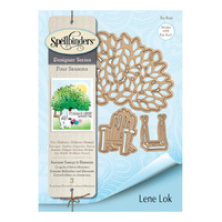 Spellbinders Four Seasons Shapeabilities Die Summer Canopy & Elements by Lene Lok