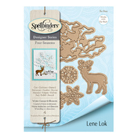 Spellbinders Four Seasons Shapeabilites Die Winter Canopy & Elements by Lene Lok