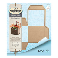 Spellbinders Four Seasons Shapeabilities Die Tea Light Gift Box by Lene Lok