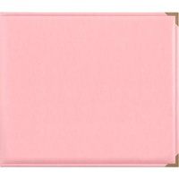 Kaisercraft D-Ring Leather Album Pink