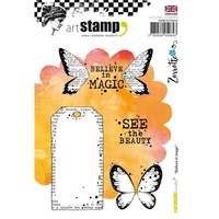 Carabelle Studio Cling Stamp A6 Believe in Magic