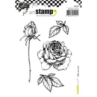 Carabelle Studio Cling Stamp A6 Offer a Rose