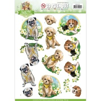 Find It Trading Sweet Pet Punchout Sheet Dogs by Amy Design
