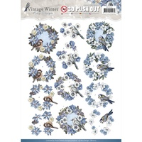 Find It Trading Vintage Winter 3D Punchout Sheet Wreaths