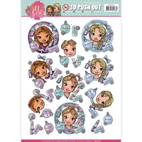 Find It Trading Sweet Girls Punchout Sheet Beautiful Girls by Yvonne Creations