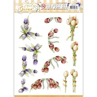 Find It Trading Early Spring Punchout Sheet Early Tulips by Marieke
