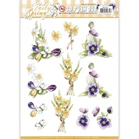 Find It Trading Early Spring Punchout Sheet Daffodils by Marieke