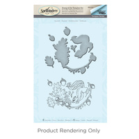 Spellbinders Stamp & Die Set Squirrel